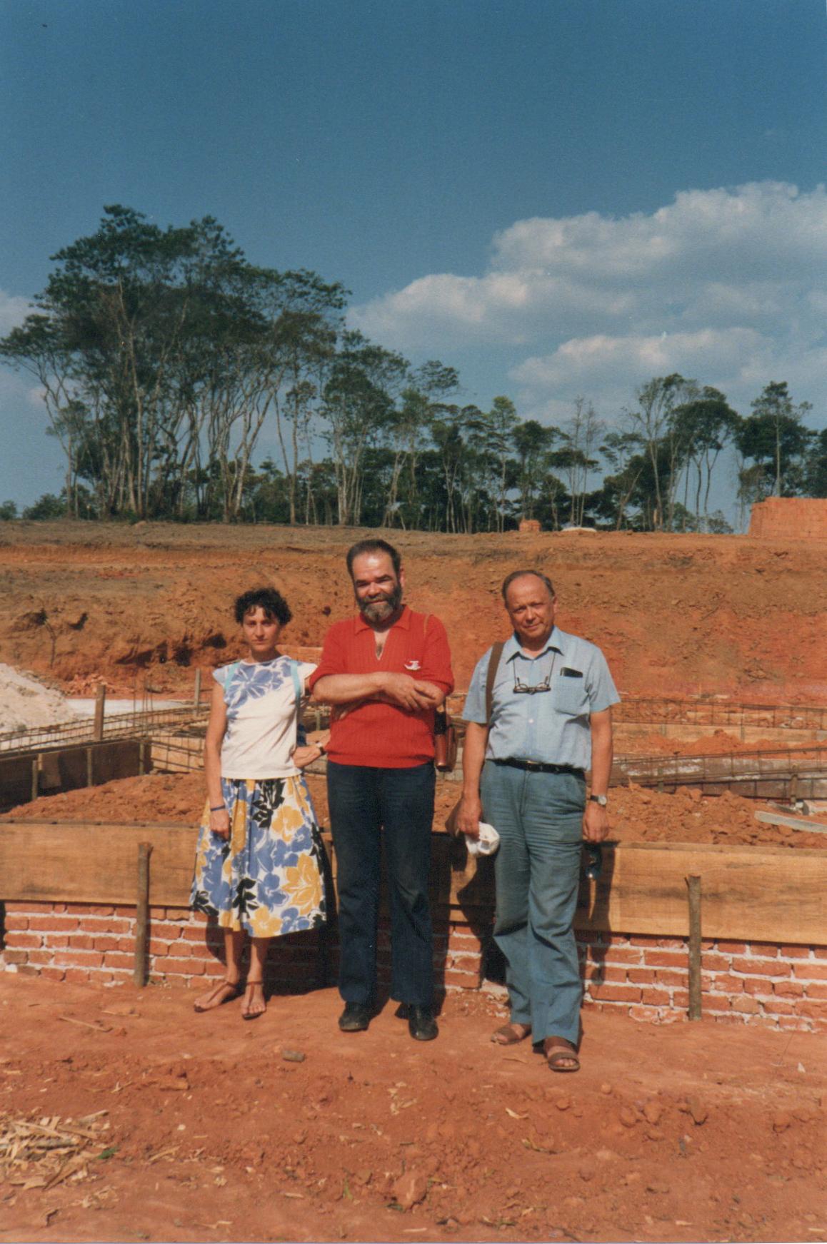 1985 (presunto). In Brasile, con Ettore De Giorgis